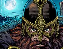 Viking Warrior Wrestling Singlet Design