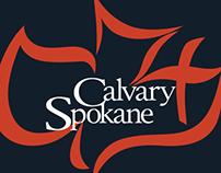 Calvary Spokane Logo Design