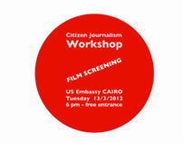 Motion Graphics | Film Screening at US Embassy in Cairo