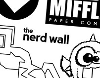The Nerd Wall - Personal Project