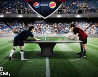 Pepsi + Burguer King . Concorrência
