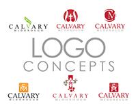 Calvary McDonough Logo Concepts