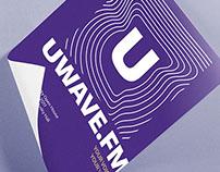 UWave Radio Rebranding Logo and Identity - Seattle WA