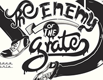 10 Carteles tipográficos Milton Glaser.