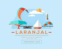 Laranjal - Praia | Playa | Beach - Temporada 2015/2016
