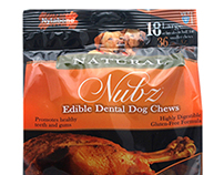 Packaging Design for Nubz Dog Treats