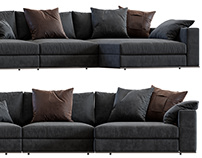 3D Modeling & Visualization of Minotti Hamilton Sofa