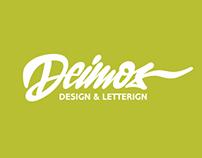 Deimos Lettering/Logo