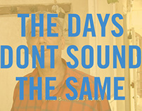 The days don't sound the same (documentary)