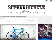 Superb Bicycles Blog + Big Cartel Slideshow