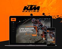 KTM Website - Concept 2016