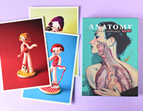 Anatomy Rocks Postcard Set