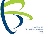 Sistema de Sinalização Faculdades Integradas Rio Branco