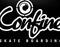 Confine Skateboarding Logo Design