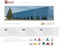 WordPress Theme for Siegfried Maschinen GmbH