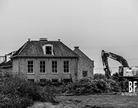 Demolition Farms/Houses Rijksweg Muiden