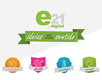 e21 Digital - Corporate Website - 2012