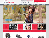 Brandfactory, Opencart Apparel Clothes Store Theme