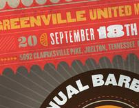 Greenville UMC BBQ Poster