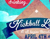 Boise Kickball Poster