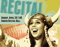 Senior Recital: Event Poster