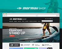 Mormaii Shop - Ecommerce