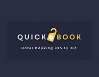 QuickBook Hotel Booking iOS UI Kit