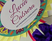 Comunión Lucía Cabrera