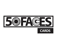 50 Faces Cards