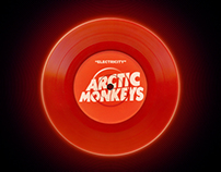 Arctic Monkeys Electricity Vinyl Disc