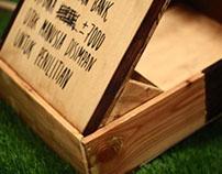 LEKATAN, The Informative Wood Bag