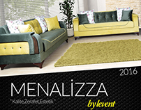 Menalizza Furniture Catalogue Design