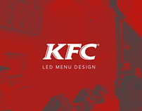 KFC - Led menu design