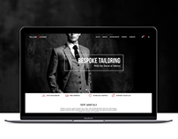 Tailor Store Website - Custom Suit