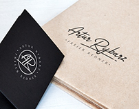 Artur Rybarz - Signature Logo