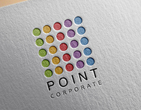 Point Corporate logo concept