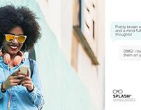 Splash® Sunglasses Ad
