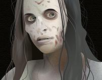 Zombie Portrait - The Walking Dead