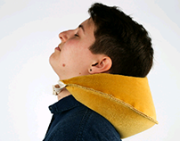 Fortune Cookie Neck Pillow