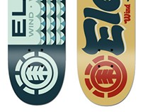 Element Skateboard Designs