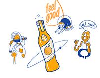illustration for feel good drinks