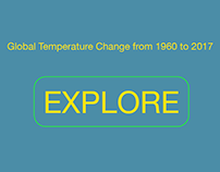 Interactive Infographic About Global Temperature Change