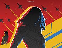 Captain Marvel - 2019 Alternative Movie Poster
