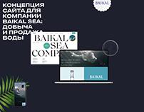 Концепция сайта компании «Байкал»