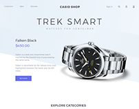 Watches Website Design