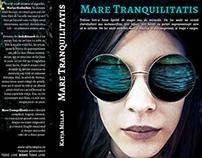 """Graphic-design - """"Mare Tranquilitatis"""" book cover"""