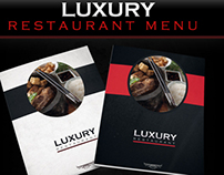 Luxury Restaurant Menu Template