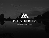 Olympic National Park Branding