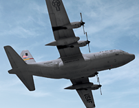Lockheed Martin C-130H (2009)