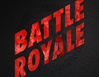 Battle Royale - Alternative Movie Poster